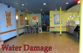 Commercial Water Damage Cleanup in a St Cloud Restaurant